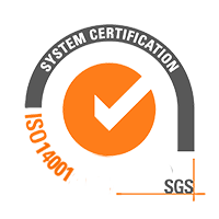 ISO 14001 SGS System Certification Logo Sustainability