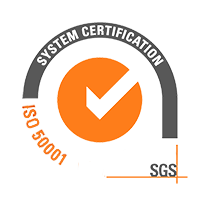 ISO 50001 SGS System Certification Logo Sustainability