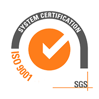 ISO 9001 SGS System Certification Logo Sustainability