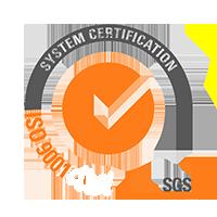 ISO 9001 SGS Sistema de certificación Logo Sostenibilidad