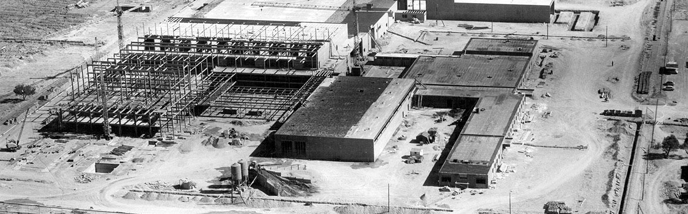 Construcción NUREL 1967 Historia