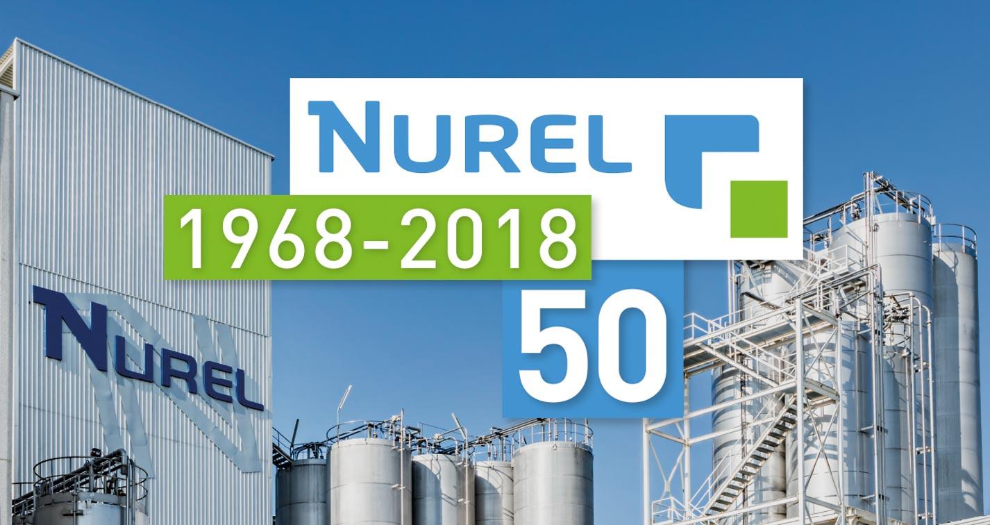 Nurel 50 years 1968 2018