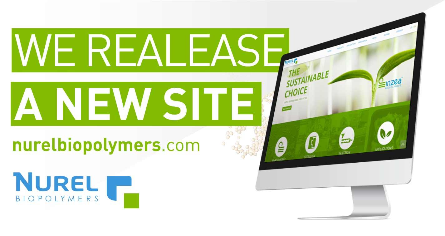 NUREL Biopolymers INZEA Biopolymers New Web Site Bioplastics