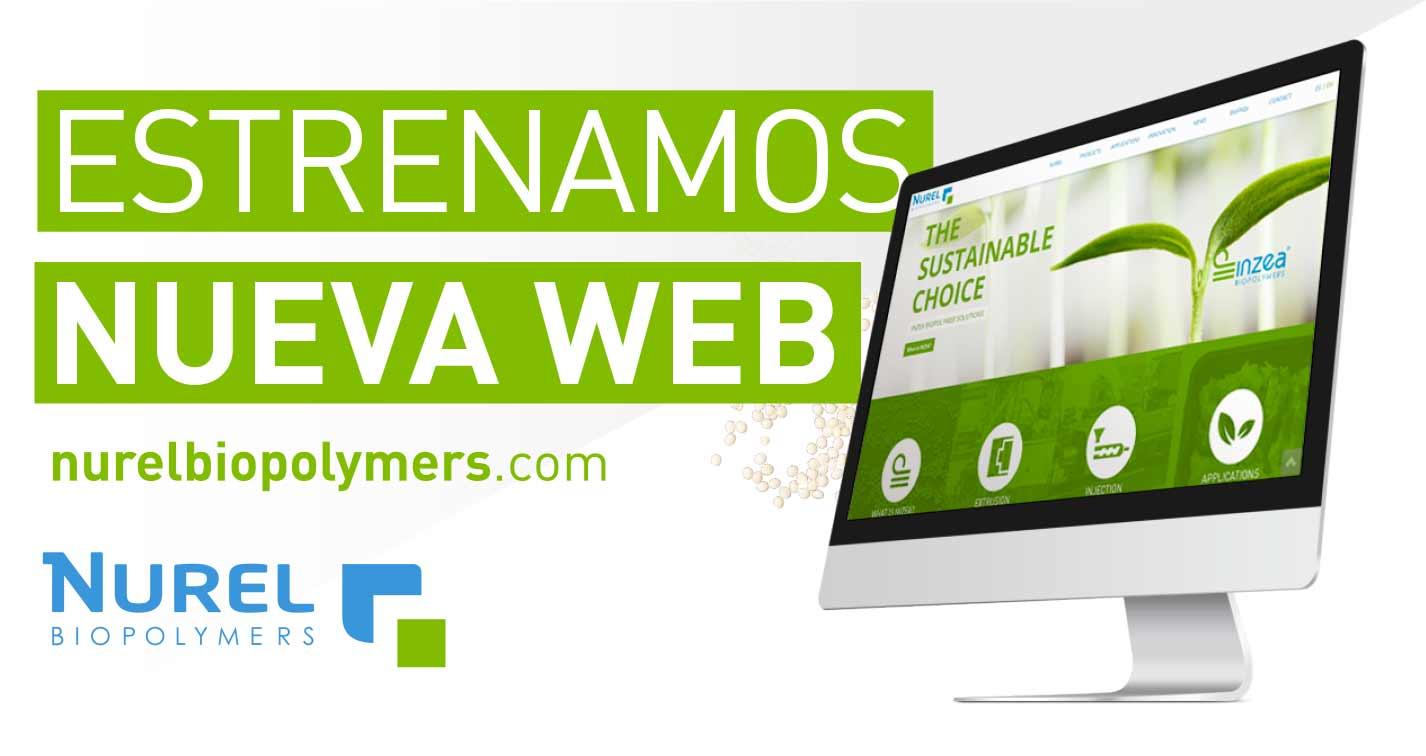 NUREL Biopolymers INZEA Biopolymers Nueva Página Web Biopolímeros Bioplásticos