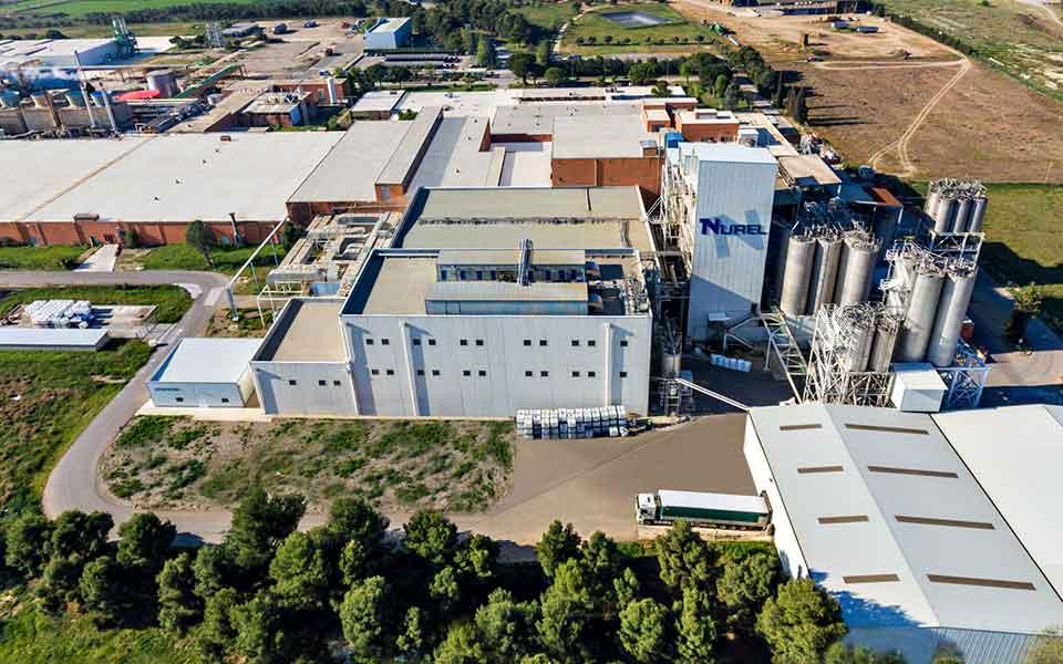 Nurel Sostenibilidad Entorno Planta de Producción