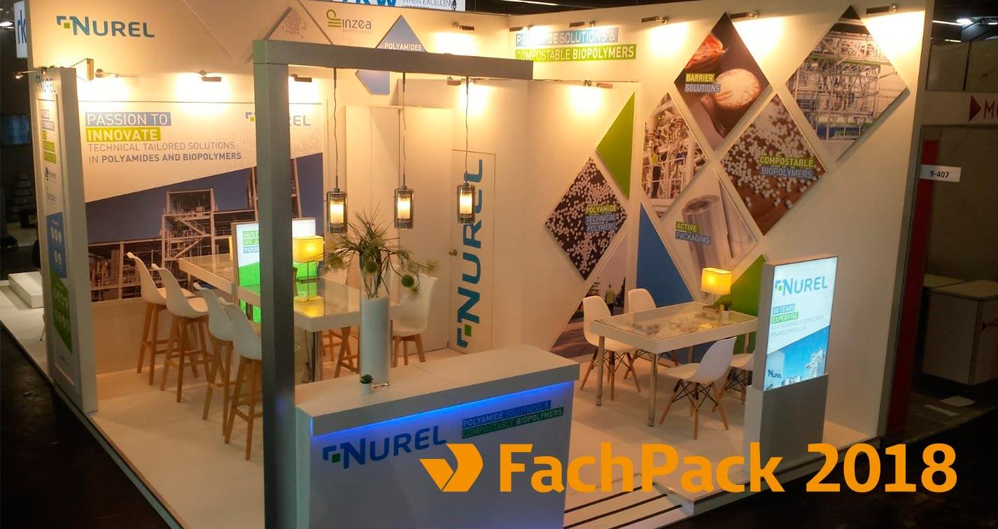 NUREL FachPack 2018 Stand