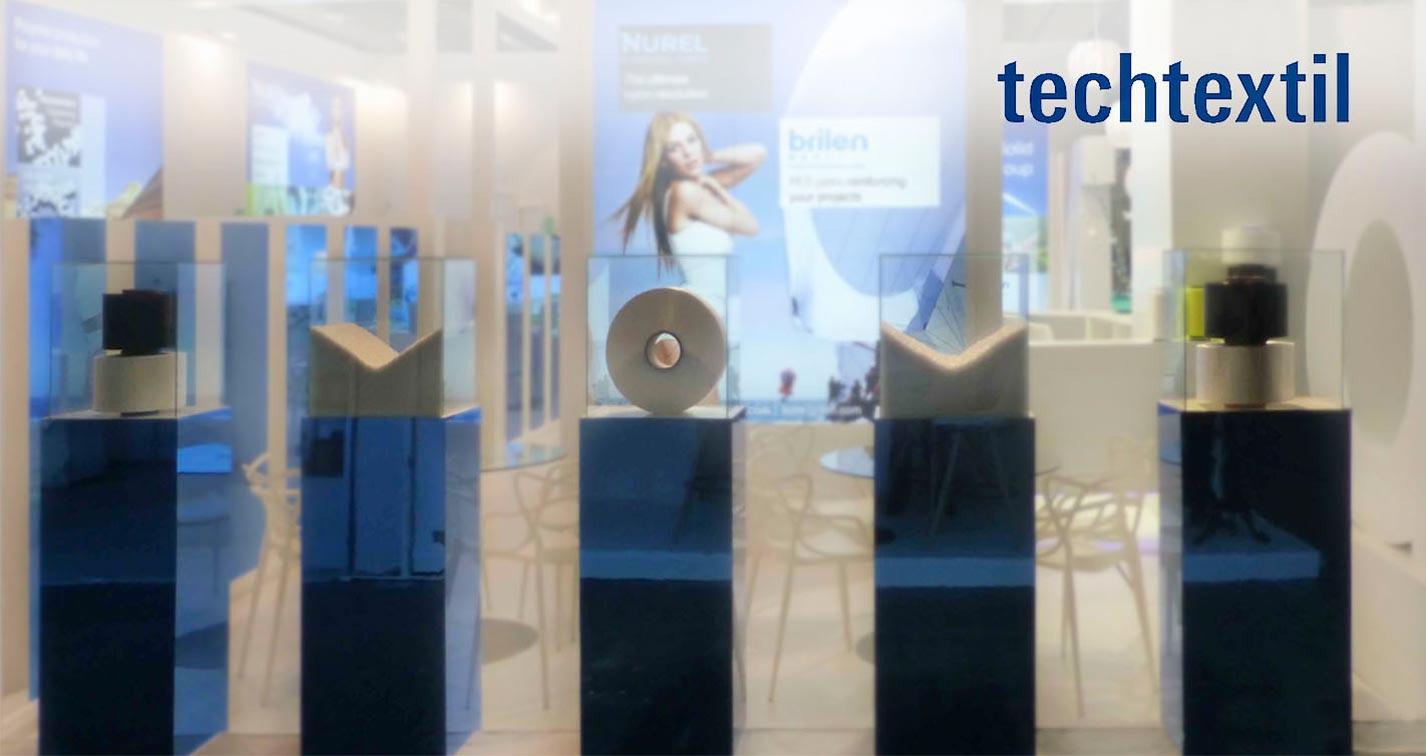 Nurel Synthetic Fibers stand Techtextil 2015