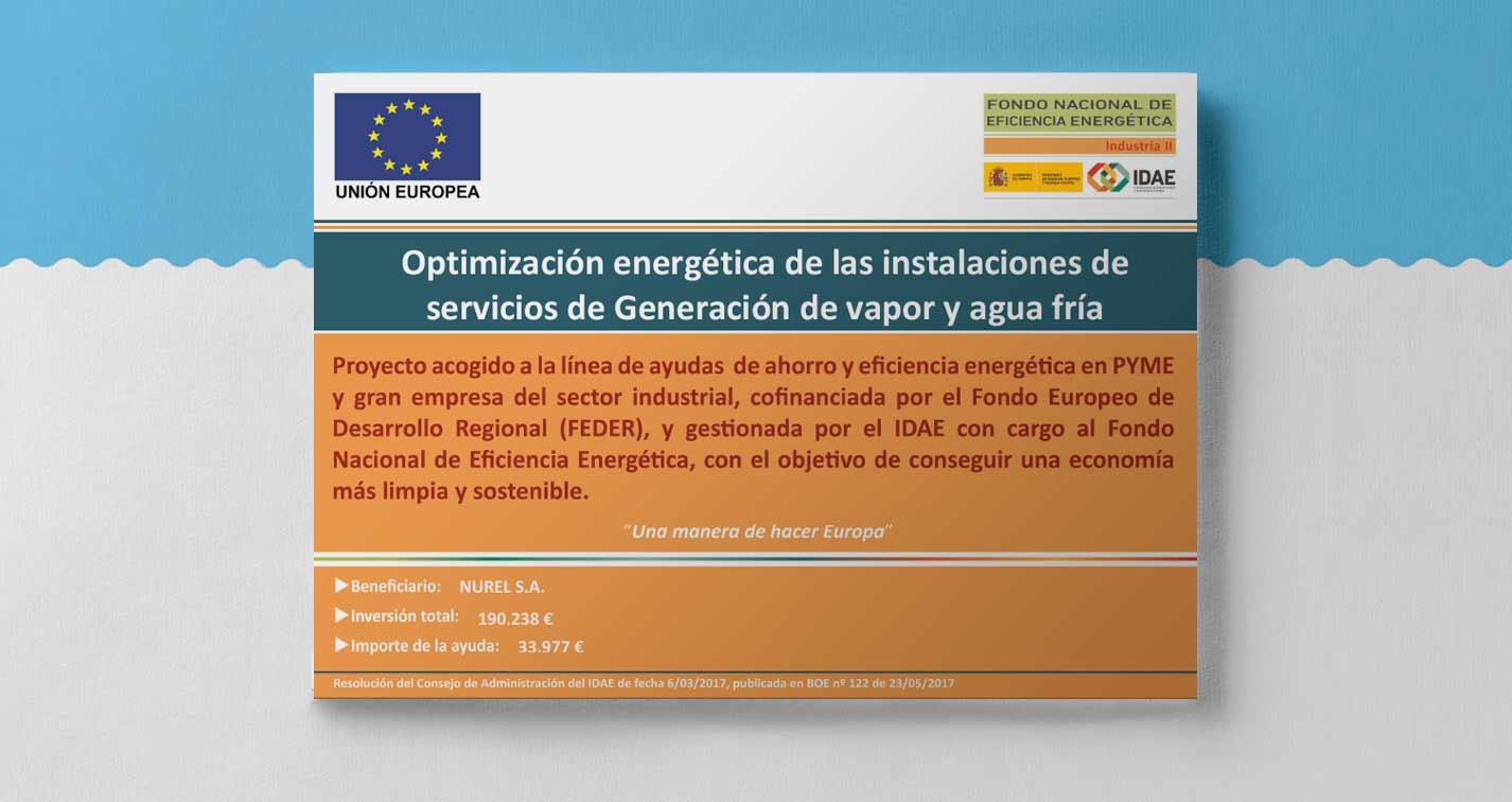 NUREL Programa de Ayudas para Actuaciones de Eficiencia Energética