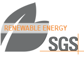 SGS Renewable Energy Logo Sustainability