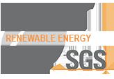 SGS Energía Renovable Logo Sostenibilidad